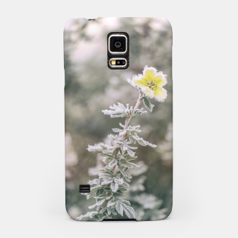 Thumbnail image of a frozen flower #1 Samsung Case, Live Heroes