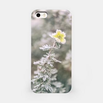 Thumbnail image of a frozen flower #1 iPhone Case, Live Heroes