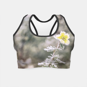 Thumbnail image of a frozen flower #1 Crop Top, Live Heroes