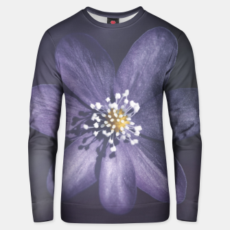 Thumbnail image of flowerpower #1 Unisex sweater, Live Heroes