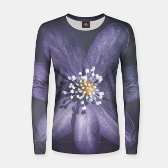 Thumbnail image of flowerpower #1 Women sweater, Live Heroes