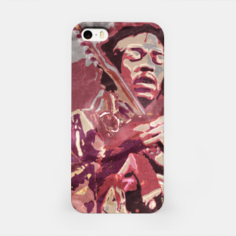 Hypnotic guitar iPhone Case Bild der Miniatur