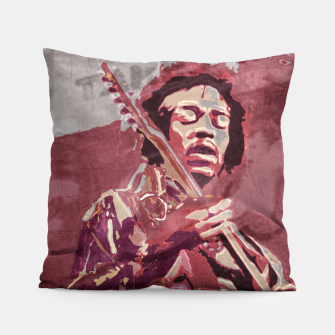 Hypnotic guitar Pillow Bild der Miniatur