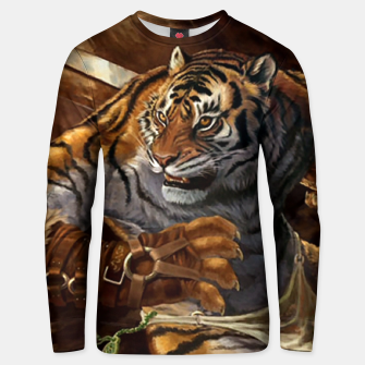 Thumbnail image of Fighter Tiger Unisex sweater, Live Heroes