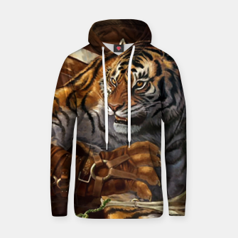 Thumbnail image of Fighter Tiger Hoodie, Live Heroes