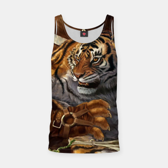 Thumbnail image of Fighter Tiger Tank Top, Live Heroes