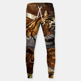 Thumbnail image of Fighter Tiger Sweatpants, Live Heroes