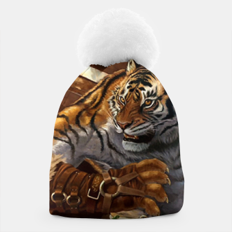 Thumbnail image of Fighter Tiger Beanie, Live Heroes