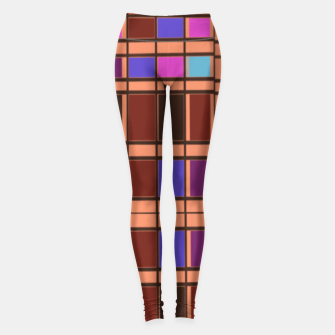 Thumbnail image of Color puzzle Leggings, Live Heroes