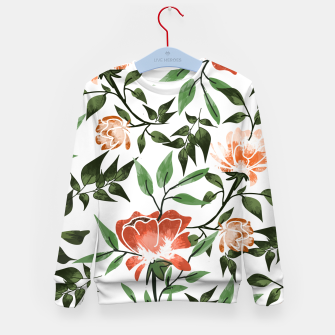 Thumbnail image of Floral Feels Kid's sweater, Live Heroes