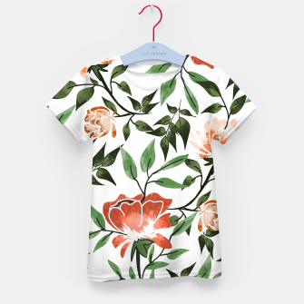 Thumbnail image of Floral Feels Kid's t-shirt, Live Heroes