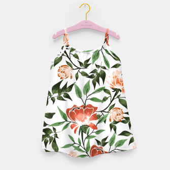 Thumbnail image of Floral Feels Girl's dress, Live Heroes