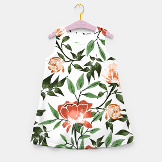 Thumbnail image of Floral Feels Girl's summer dress, Live Heroes