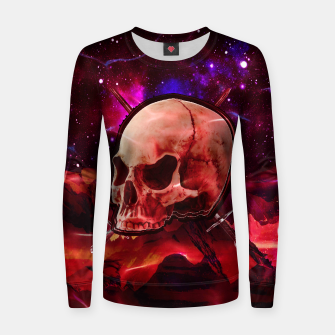 Thumbnail image of Space Skull War Sweater, Live Heroes
