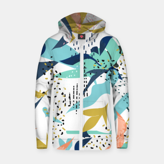 Thumbnail image of Art and Soul Zip up hoodie, Live Heroes