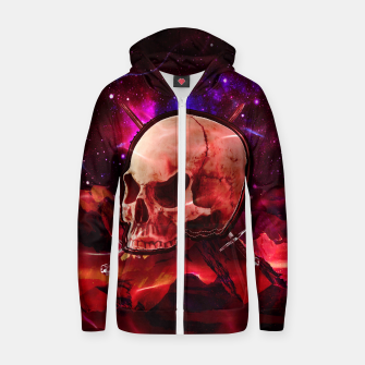 Thumbnail image of Space Skull War Hoodie, Live Heroes