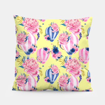 Thumbnail image of Flower Ballons Pillow, Live Heroes