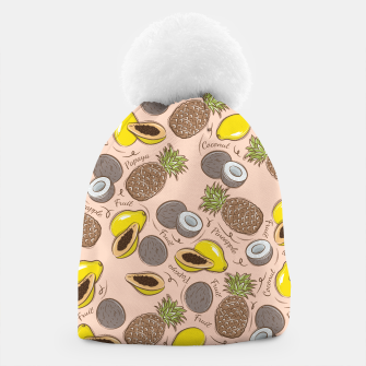 Thumbnail image of Exotic Fruits Beanie, Live Heroes