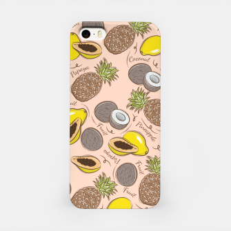 Thumbnail image of Exotic Fruits iPhone Case, Live Heroes