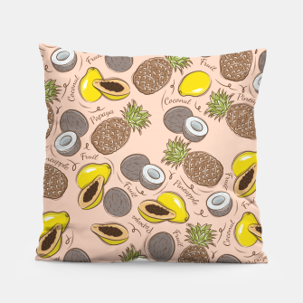 Thumbnail image of Exotic Fruits Pillow, Live Heroes