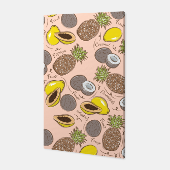 Thumbnail image of Exotic Fruits Canvas, Live Heroes