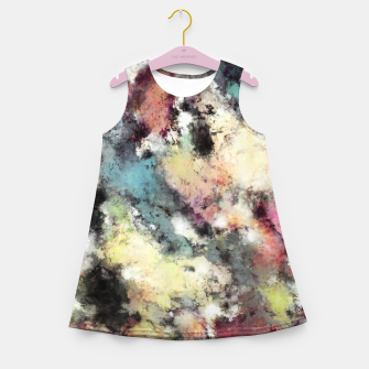 Thumbnail image of An uncertain barrier Girl's summer dress, Live Heroes