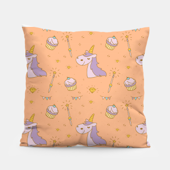 Thumbnail image of Unicorn Drawing Pillow, Live Heroes