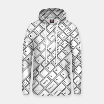 Thumbnail image of Keyboarded - The ultimate computer keyboard pattern for boys Hoodie, Live Heroes