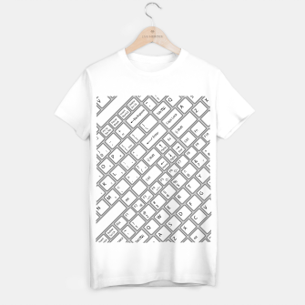 Miniaturka Keyboarded - The ultimate computer keyboard pattern for boys T-shirt regular, Live Heroes