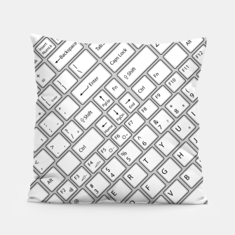 Miniaturka Keyboarded - The ultimate computer keyboard pattern for boys Pillow, Live Heroes