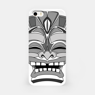 Thumbnail image of Smiling Tiki-Mask iPhone Case, Live Heroes