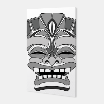 Thumbnail image of Smiling Tiki-Mask Canvas, Live Heroes