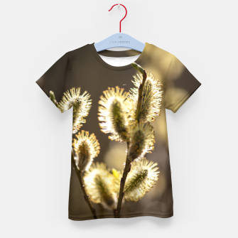 Thumbnail image of willow tree #1 Kid's t-shirt, Live Heroes