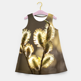 Thumbnail image of willow tree #1 Girl's summer dress, Live Heroes