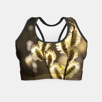 Thumbnail image of willow tree #1 Crop Top, Live Heroes