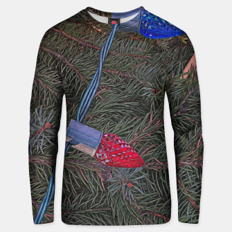Thumbnail image of Christmas Lights on the Tree Unisex sweater, Live Heroes