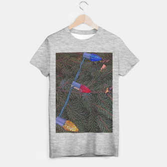 Thumbnail image of Christmas Lights on the Tree T-shirt regular, Live Heroes