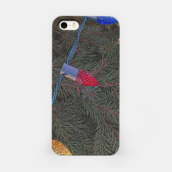 Thumbnail image of Christmas Lights on the Tree iPhone Case, Live Heroes
