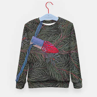 Thumbnail image of Christmas Lights on the Tree Kid's sweater, Live Heroes