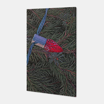 Thumbnail image of Christmas Lights on the Tree Canvas, Live Heroes