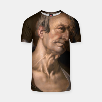 Thumbnail image of Head of an Old Man by Abraham Bloemaert T-shirt, Live Heroes