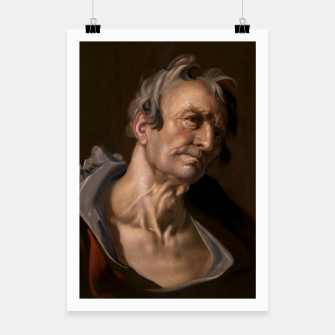 Thumbnail image of Head of an Old Man by Abraham Bloemaert Poster, Live Heroes