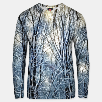 Thumbnail image of 4 oclock Winter landscape Unisex sweater, Live Heroes