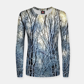 Thumbnail image of 4 oclock Winter landscape Women sweater, Live Heroes