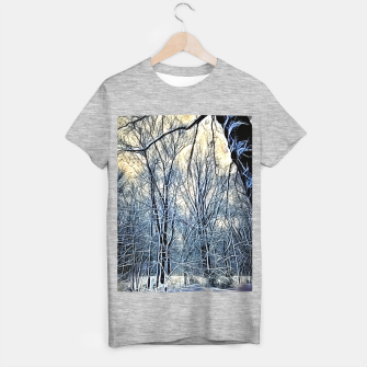 Thumbnail image of 4 oclock Winter landscape T-shirt regular, Live Heroes