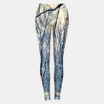 Thumbnail image of 4 oclock Winter landscape Leggings, Live Heroes