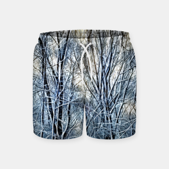 Thumbnail image of 4 oclock Winter landscape Swim Shorts, Live Heroes