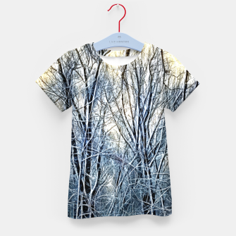 Thumbnail image of 4 oclock Winter landscape Kid's t-shirt, Live Heroes