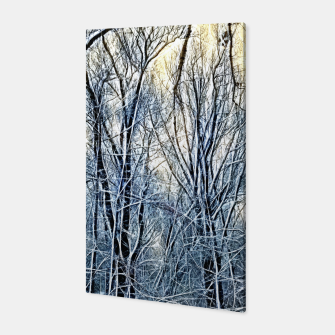Thumbnail image of 4 oclock Winter landscape Canvas, Live Heroes