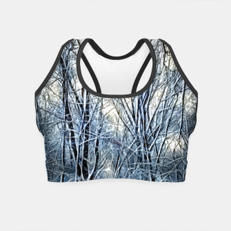 Thumbnail image of 4 oclock Winter landscape Crop Top, Live Heroes